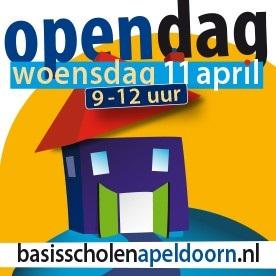 Open dag woensdag 11 april